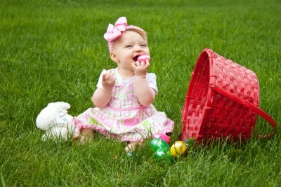 6 ideas for babys first easter basket moms timeout 6 ideas for babys first easter basket negle Images